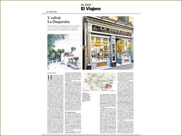 EL PAÍS El Viajero - 1 julio 2016